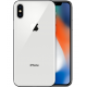 Apple iPhone X 64GB Silver * Prezzo Compreso Di Pellicola Vetro e Silicon UK